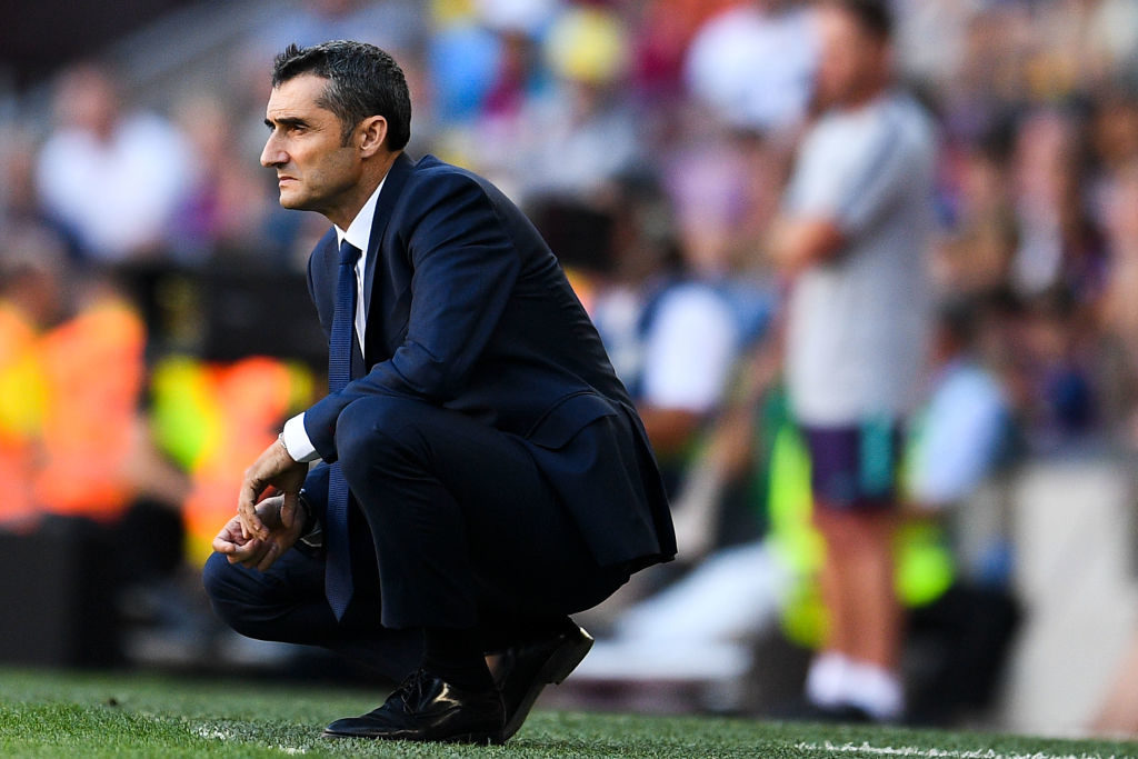 Ernesto Valverde has reportedly been approached about becoming the next Spurs manager