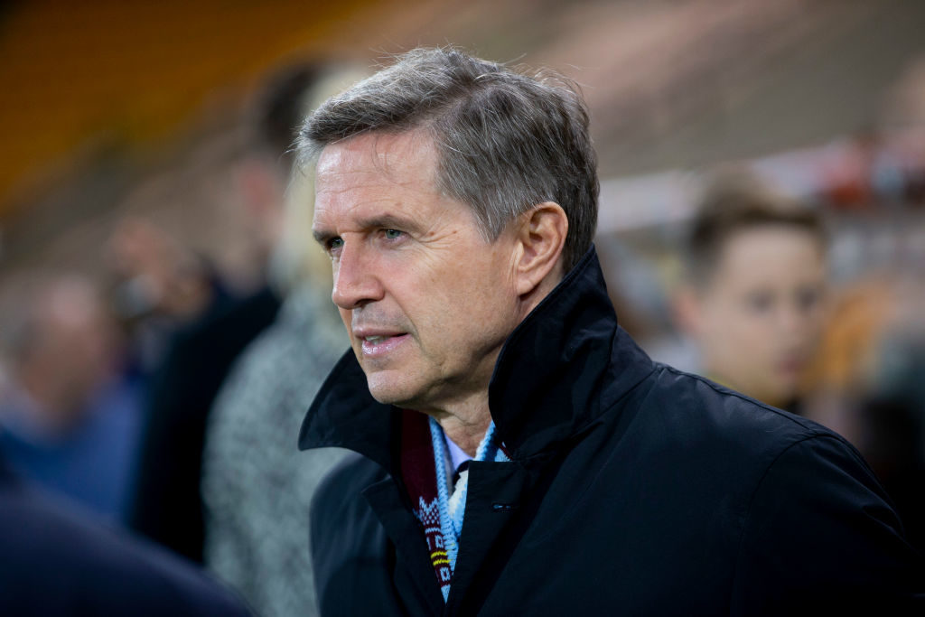 Christian Purslow has spoken about Aston Villa's transfer plans for this summer.