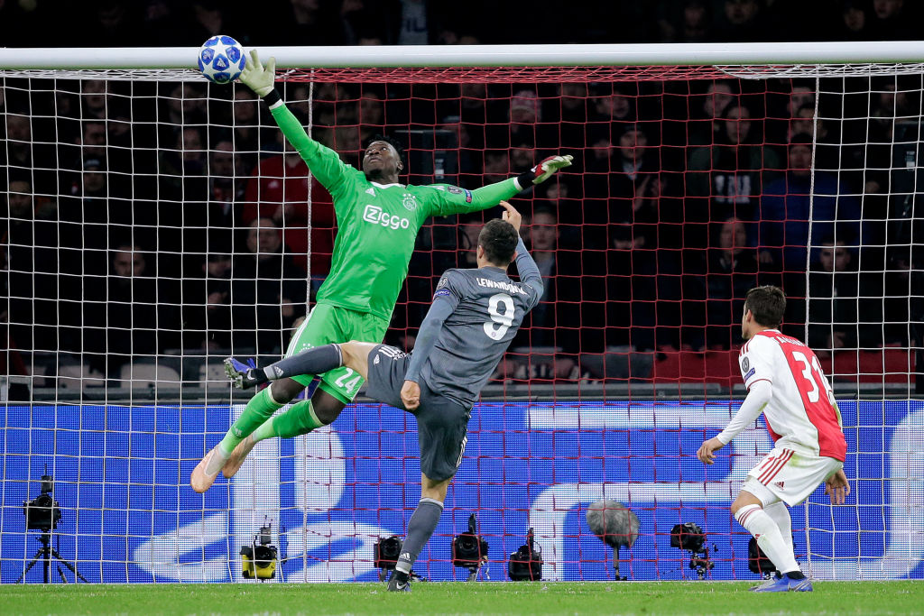Image result for andre onana save