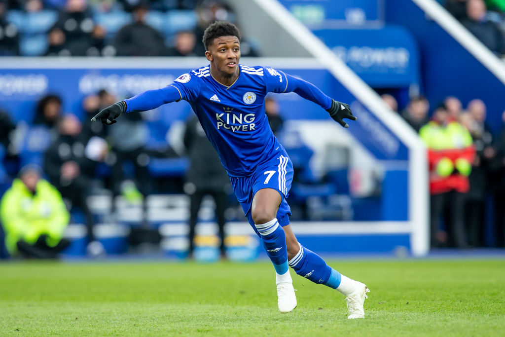 Demarai Gray, who looks set for Goodison Park, won the Premier League title with Leicester