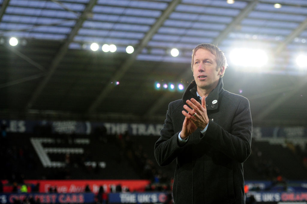 Graham Potter has been linked with Spurs