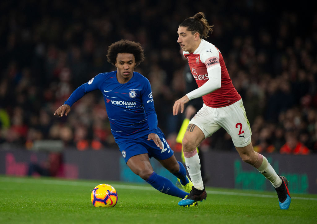 Willian agrees three-year, £100k-a-week deal with Arsenal