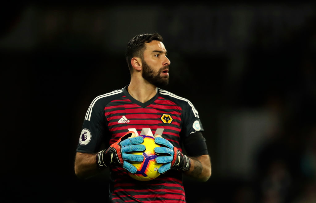 Wolves could offer Rui Patricio a new deal
