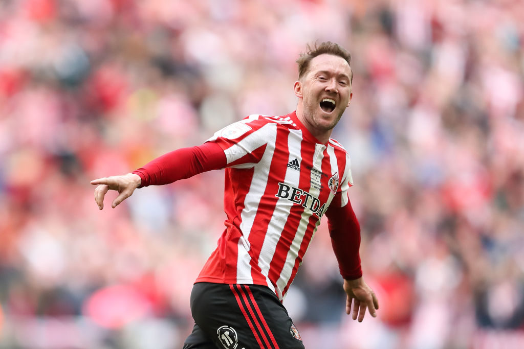 Aiden McGeady starred for Sunderland in their 2-0 win over Hearts.