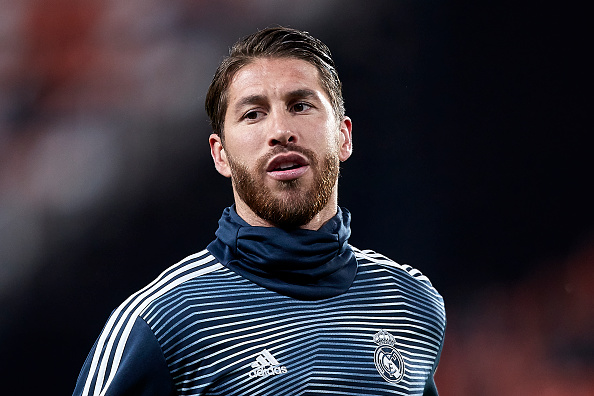 Sergio Ramos could help Man City win the UEFA Champions League.