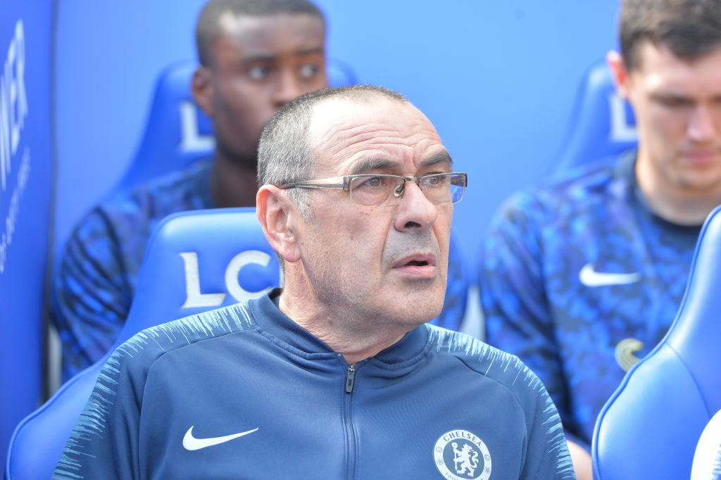 Spurs have reportedly been after Maurizio Sarri