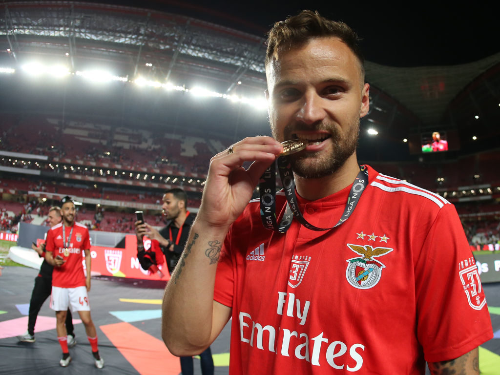 The striker has enjoyed a successful spell with Benfica.