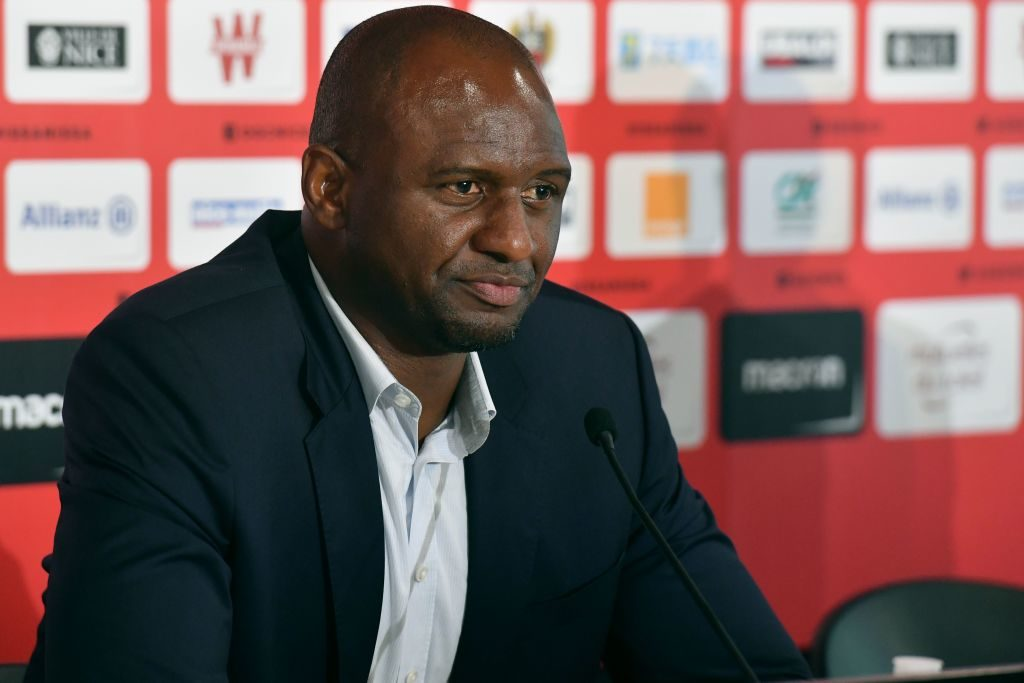 Patrick Vieira is set to join Crystal Palace as manager.