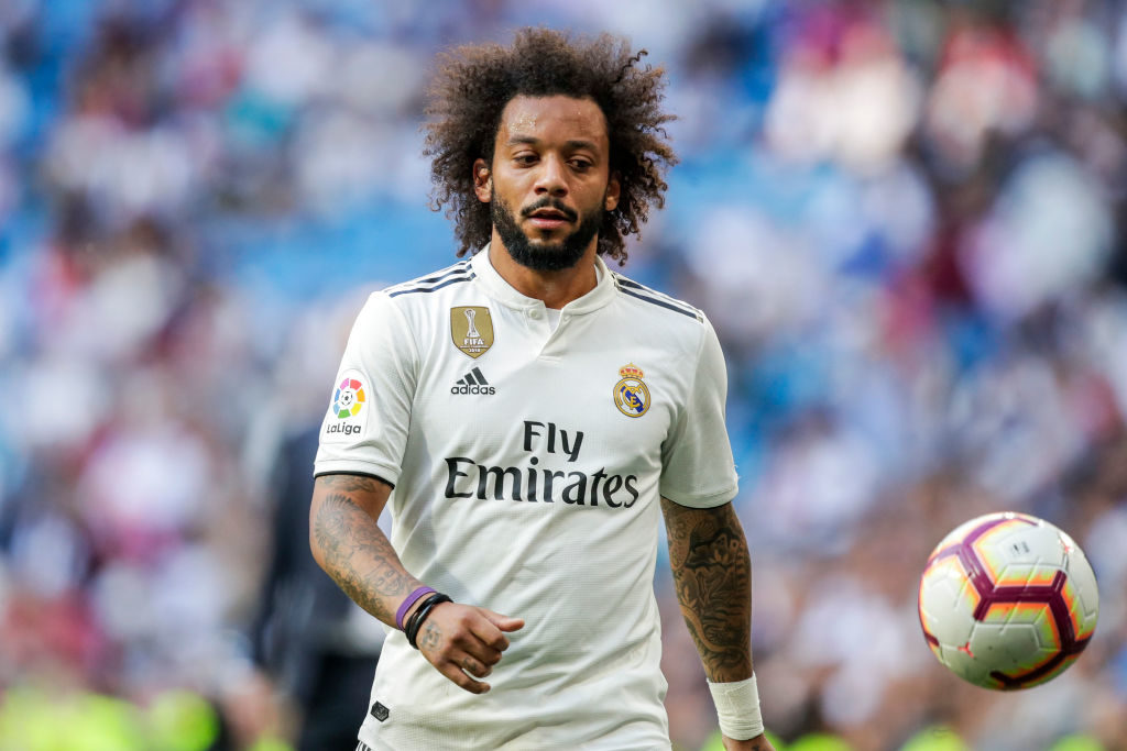 Marcelo has been linked with Everton and Leeds in the transfer window
