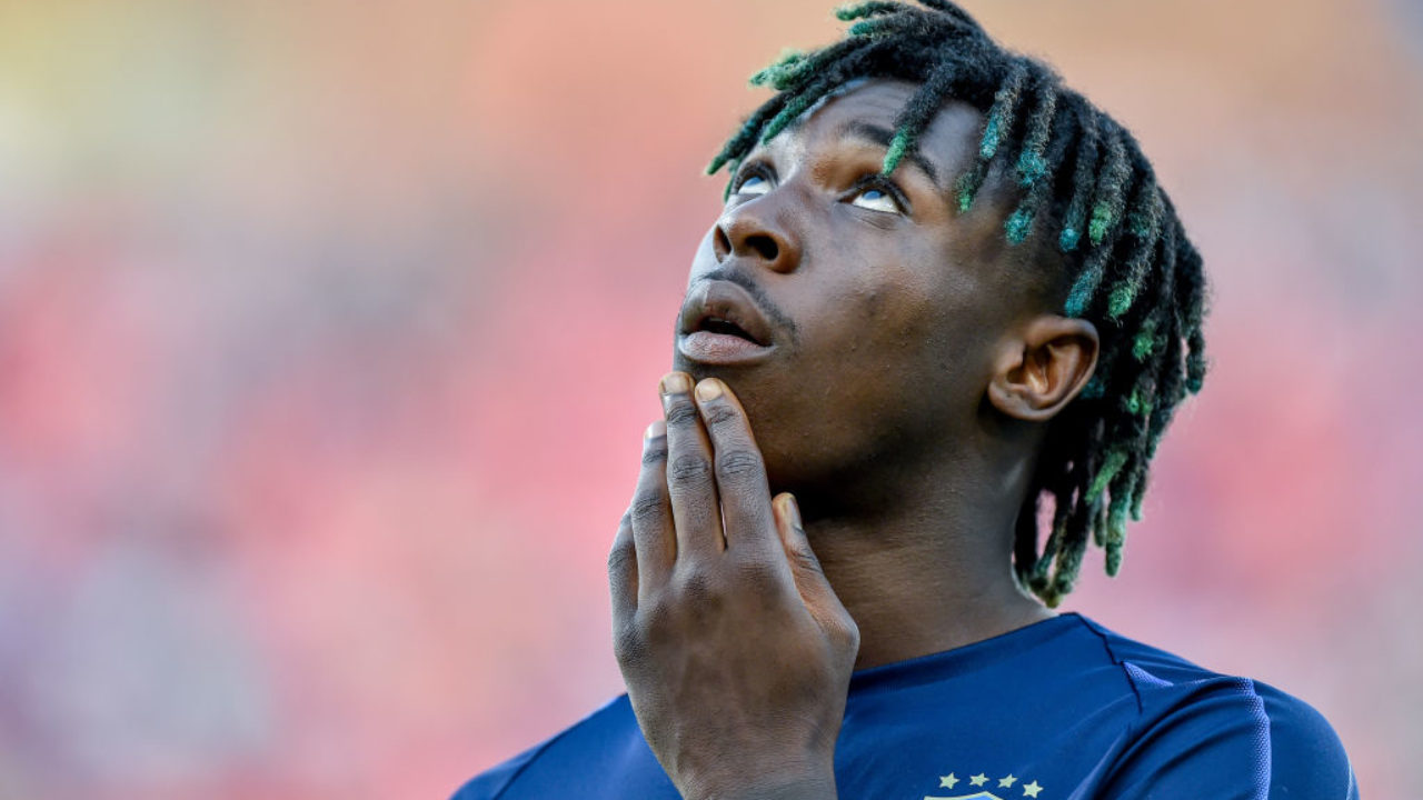 Report Everton Keen On 31m Rated Juventus Striker Moise Kean The Boot Room