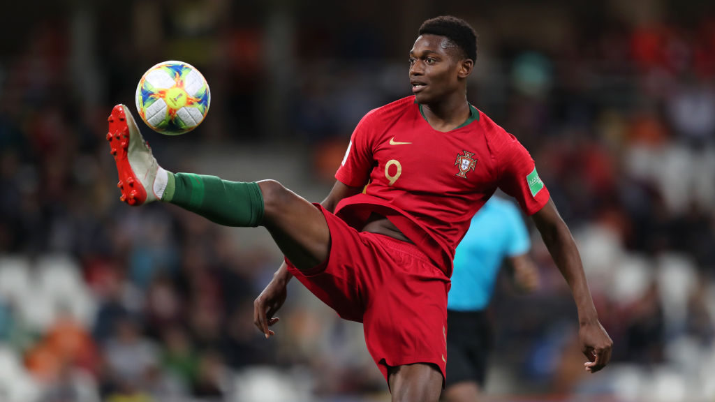 Wolves reported target Rafael Leao in action for Portugal at the Under-20 World Cup