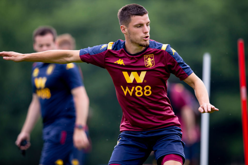 Frederic Guilbert is likely to compete with Matty Cash next season for the right-back spot.