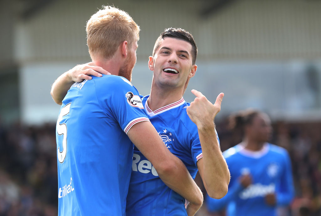 Jordan Jones sends three-word message to Rangers fans after today's victory and imminent 55th title