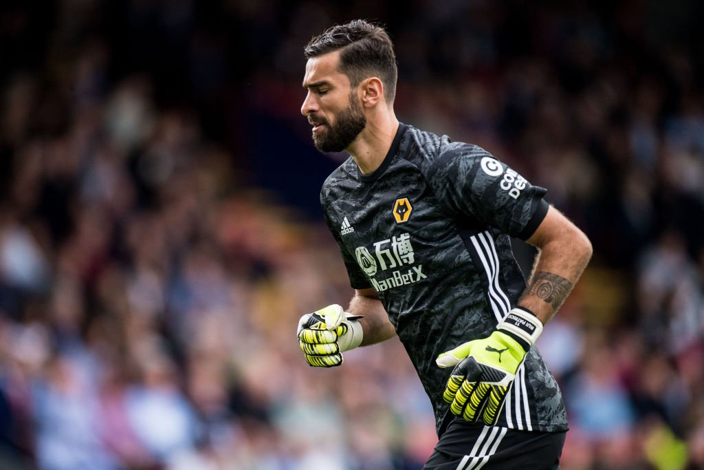 Wolves fans show their appreciation for Rui Patricio after draw with  Crystal Palace - The Boot Room