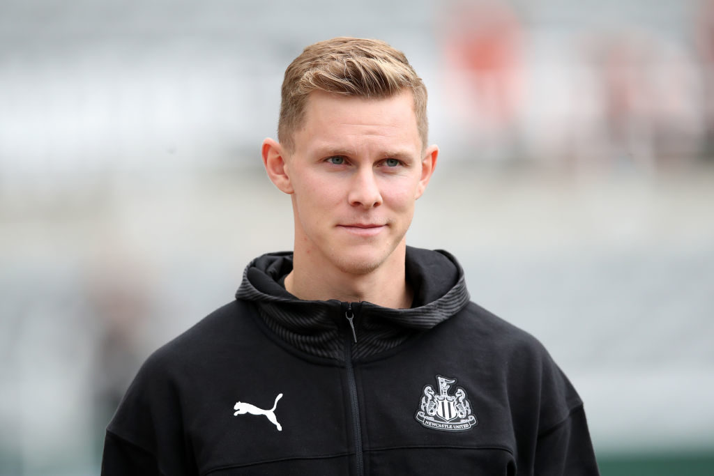 Newcastle defender Emil Krafth is wanted by Fulham