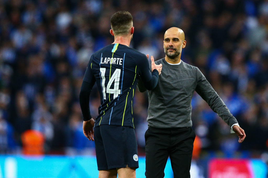 Aymeric Laporte could be by the way out at Manchester City this summer.