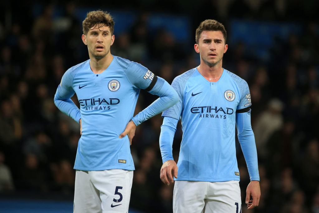 Aymeric Laporte could join FC Barcelona after losing his first-team spot to John Stones.