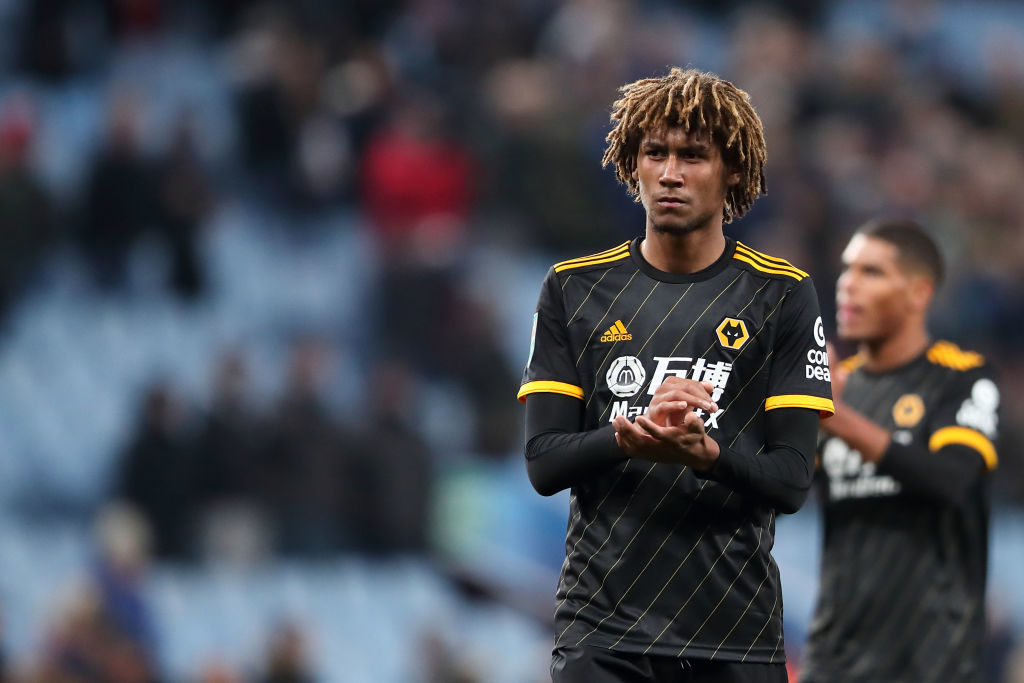 Wolves have rejected a Newcastle bid for Dion Sanderson