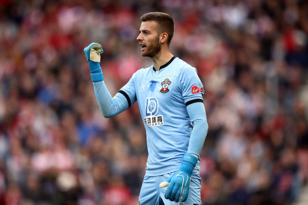 Leeds reportedly wanted Angus Gunn in the transfer window