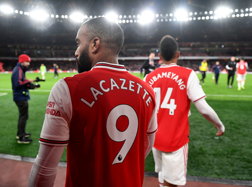 FC Barcelona are reportedly interested in Pierre-Emerick Aubameyang and Alexandre Lacazette as a replacement for Martin Braithwaite.
