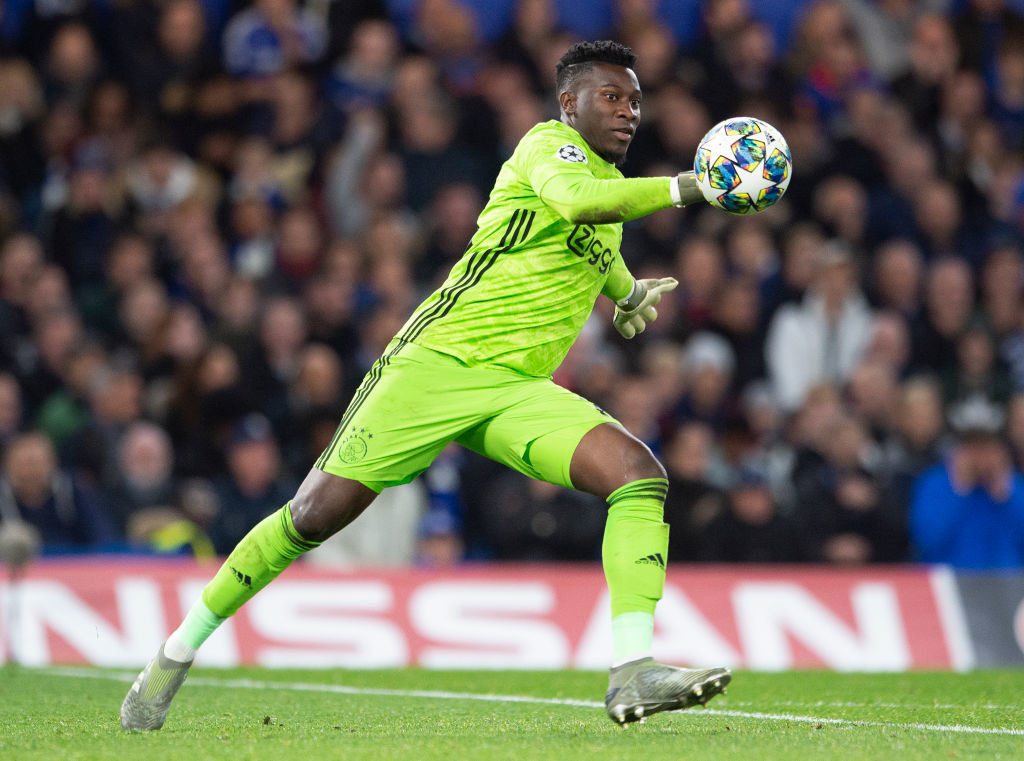 Andre Onana could be Arsenal's first signing of the summer window.