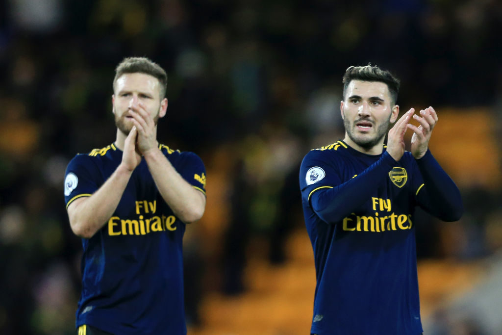 The Bosnian joined Arsenal on a free transfer in 2017.