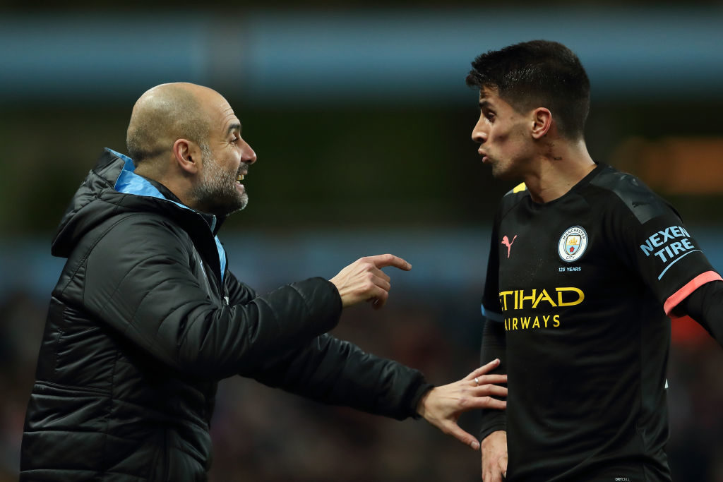 Manchester City can't allow Joao Cancelo to leave this summer.