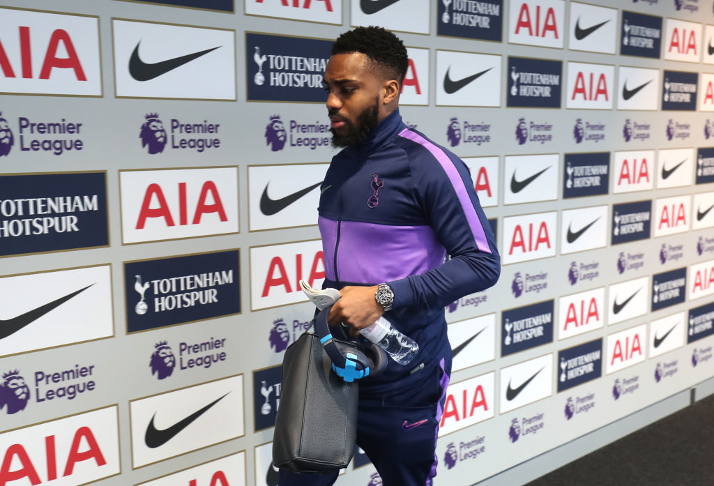 Danny Rose has not featured at all for Tottenham this season.