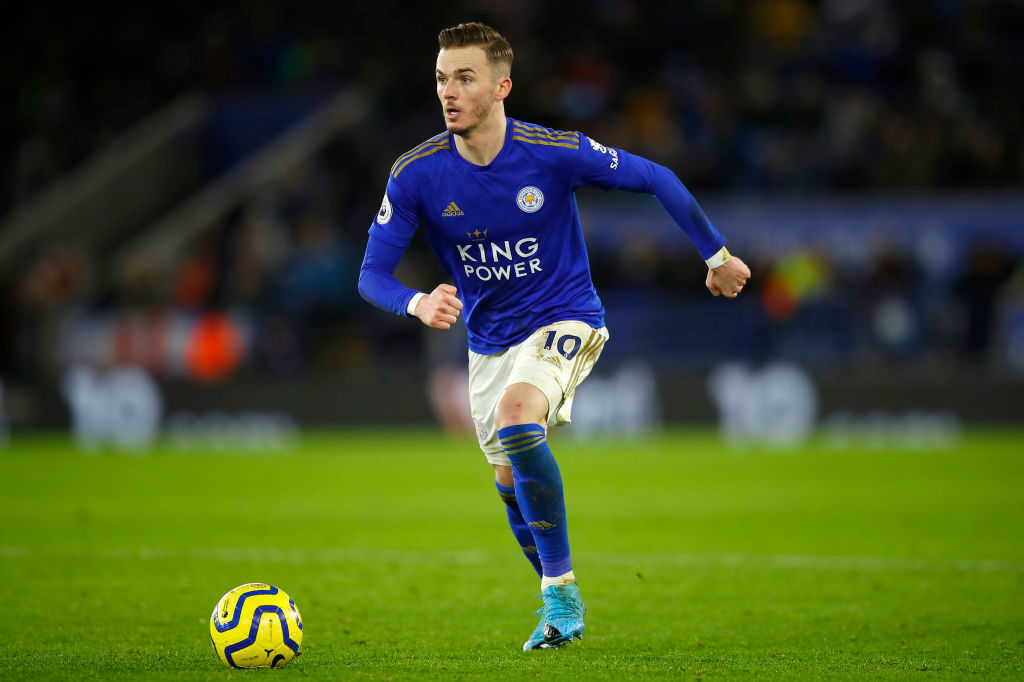The attacking midfielder has been one of Leicester's best players in recent years.
