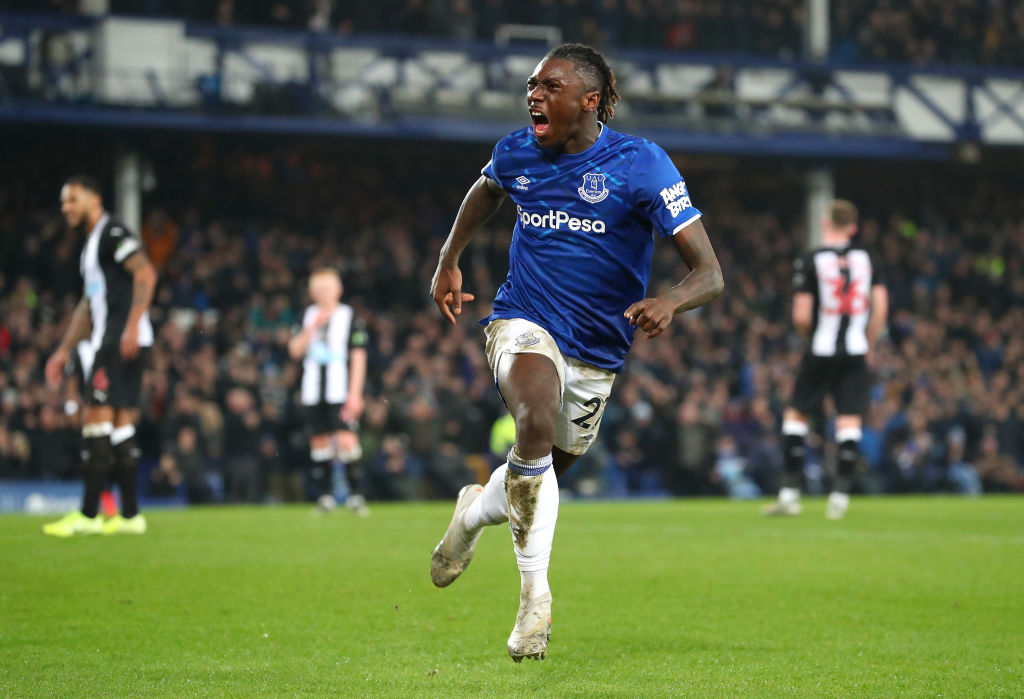 Carlo Ancelotti Hails Everton Striker Moise Kean For Newcastle Display The Boot Room