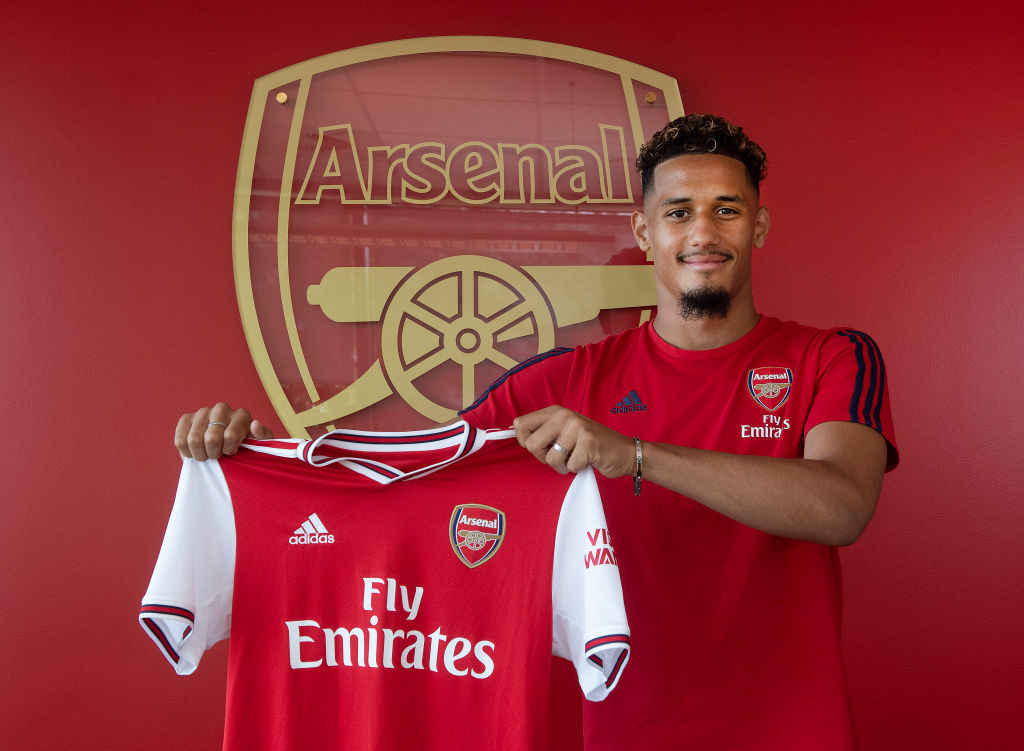 William Saliba joined Arsenal in the summer of 2019.