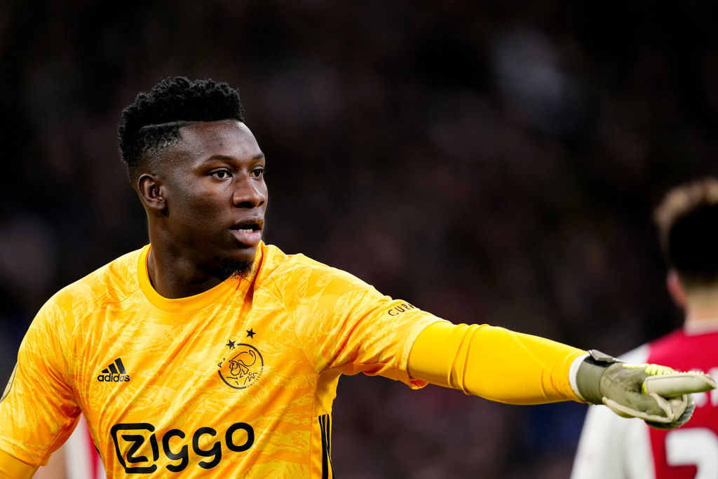 Andre Onana is set to leave Ajax this summer.