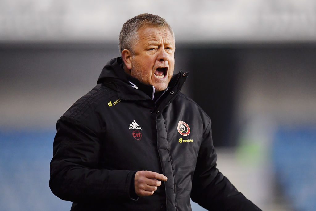 Sheffield United manager Chris Wilder admits he has a soft ...