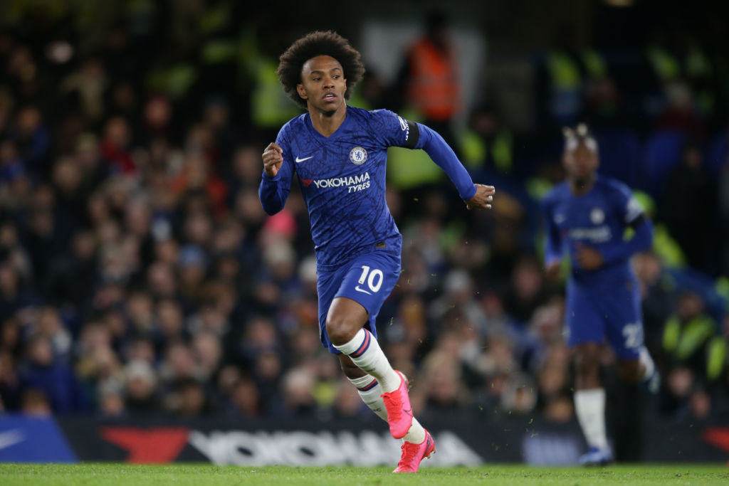 Claim From France: Initial Two-Year Contract For Willian At Arsenal