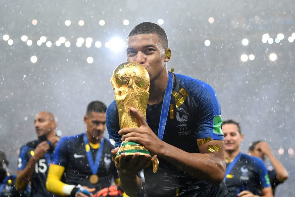 The youngster was key to France's 2018 FIFA World Cup win.