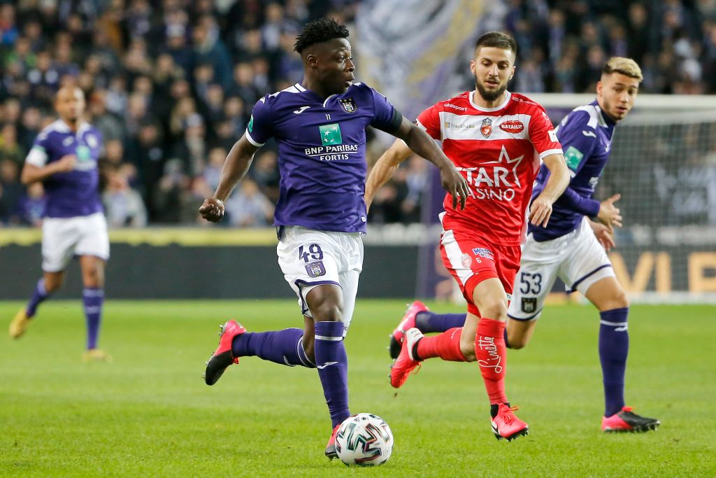 Liverpool fans react as Anderlecht teen Jeremy Doku linked with move