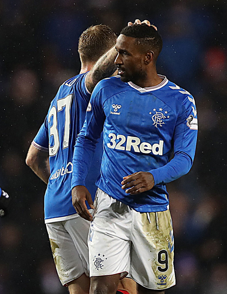 Jermain Defoe has impressed since joining Rangers from AFC Bournemouth.