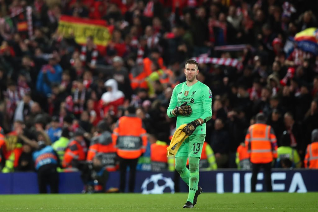 Adrian Contract Liverpool