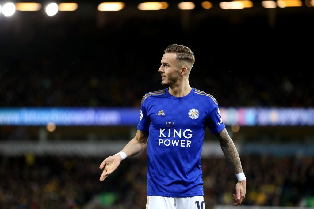 James Maddison is also a target for Arsenal.