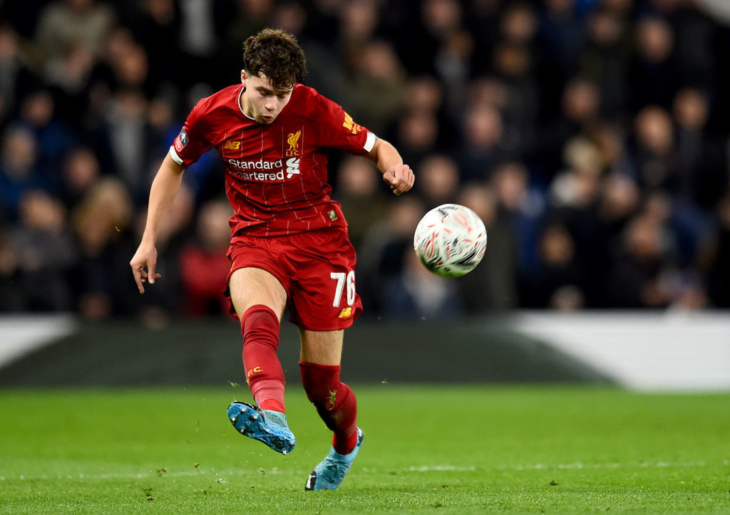 Liverpool could let Neco Williams leave in the transfer window amid links with Leeds