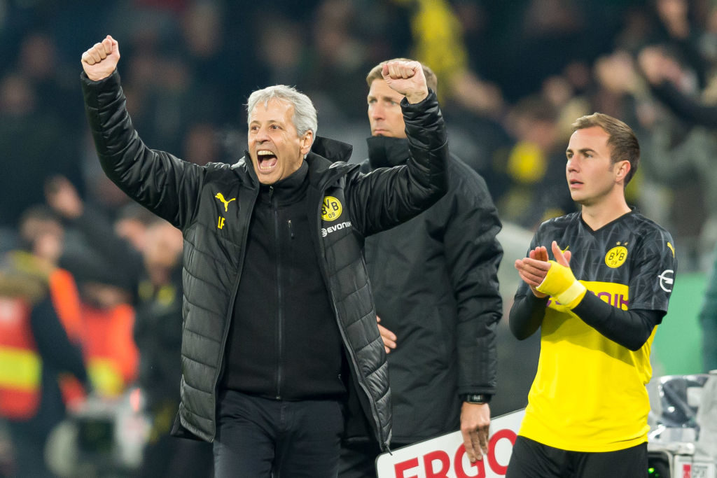 Crystal Palace reportedly want Lucien Favre as their next manager