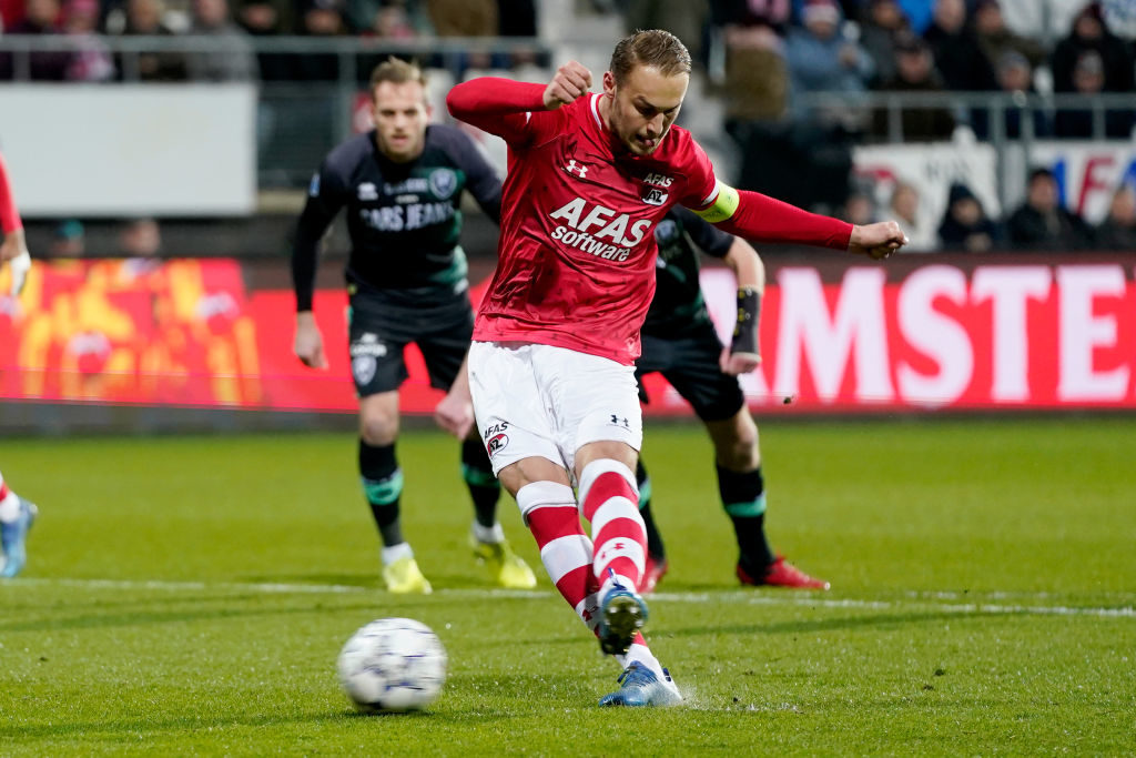 Arsenal are reportedly eyeing Teun Koopmeiners of AZ and the Netherlands