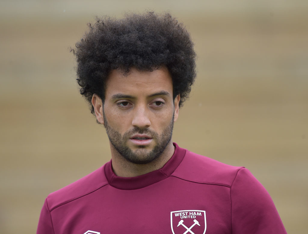 Felipe Anderson is set to re-join Lazio on a free transfer.