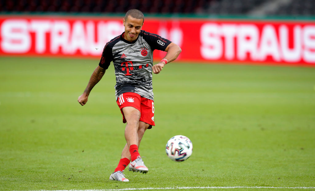 PSG join the race for Liverpool target Thiago