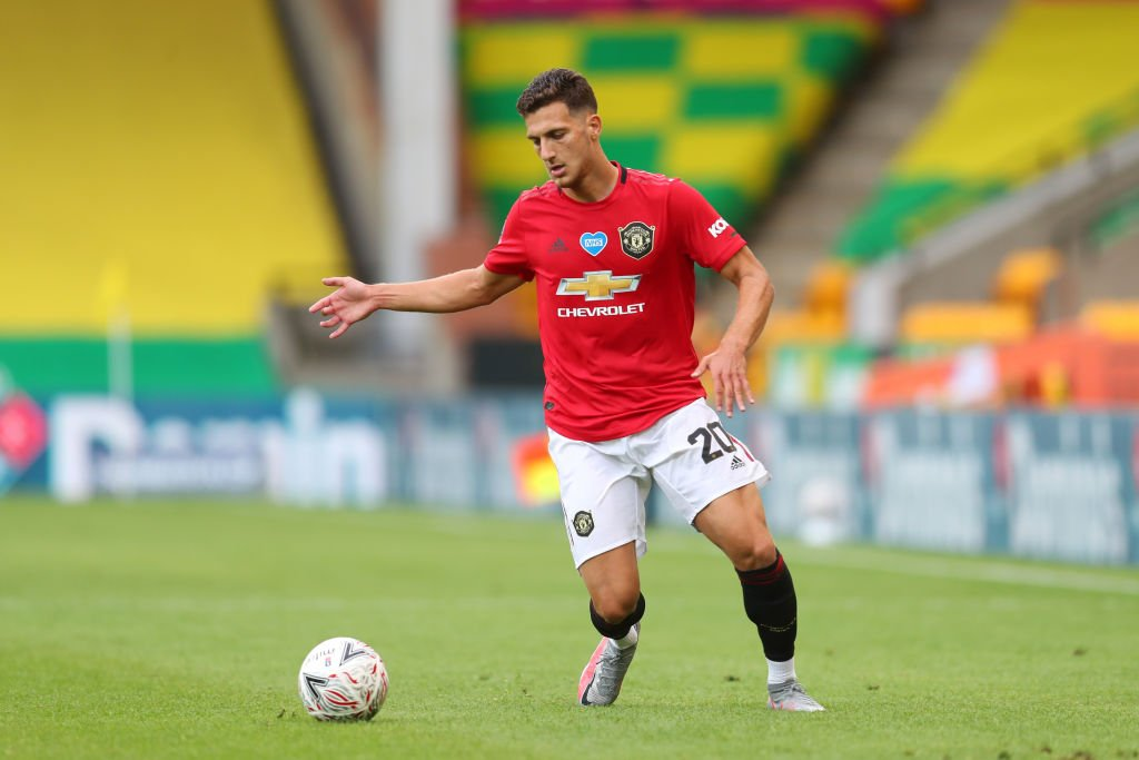 Diogo Dalot is an Everton target this summer