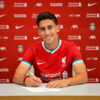 Liverpool Unveil New Signing Kostas Tsimikas