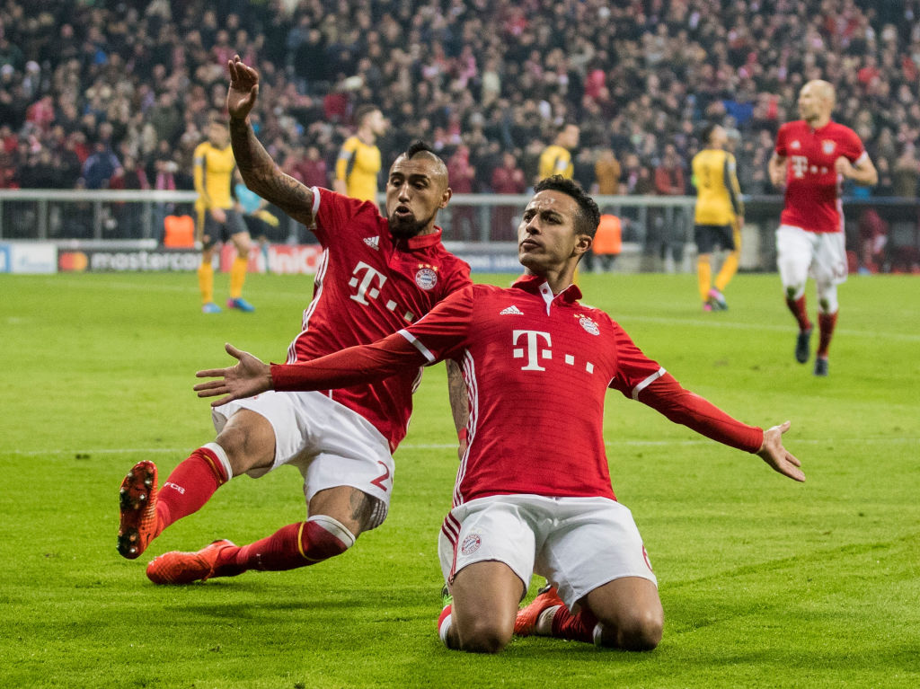 Bayern boss Flick hints Liverpool target Thiago will leave club