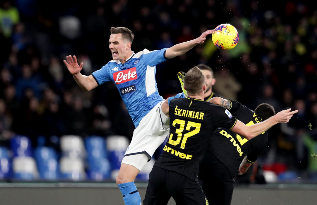 Tottenham submit €35m offer for Milan Skriniar