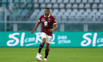Gleison Bremer of Torino FC in action   during the the Serie