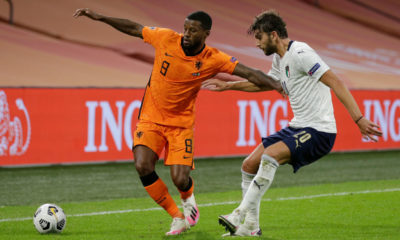 Holland  v Italy  -UEFA Nations league